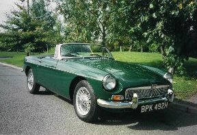 MGB FRONT VIEW