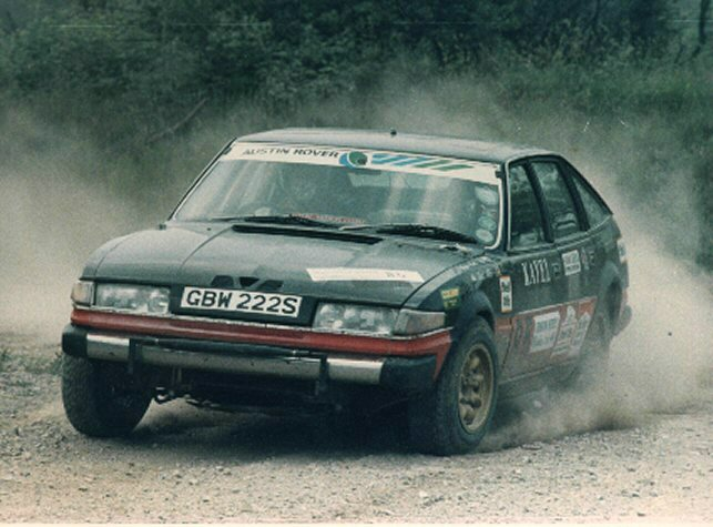 ROVER SD1 RUSSEK RALLY 1987