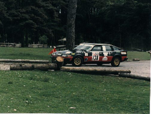 ROVER SD1 1987 WELSH RALLY
