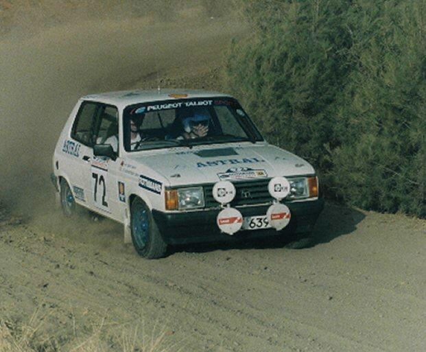 SAMBA 1988 CYPRUS RALLY