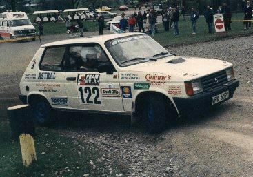 SAMBA WELSH RALLY 1988