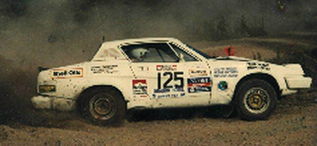 TR7V8 RUSSEK RALLY '86