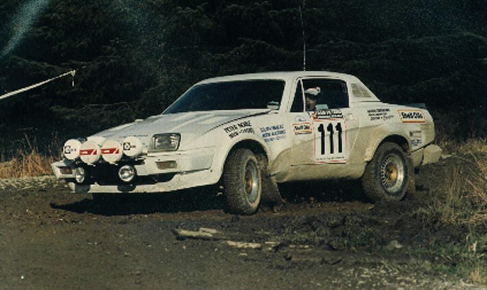 TR7V8 WELSH RALLY '86