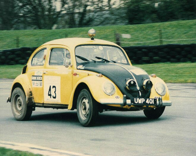 VW on RAC Historic Rally